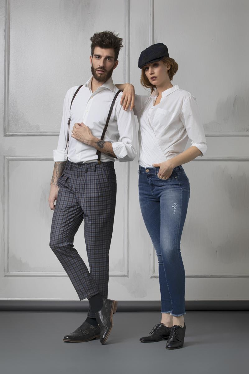 Teleria Zed, il pantalone italiano