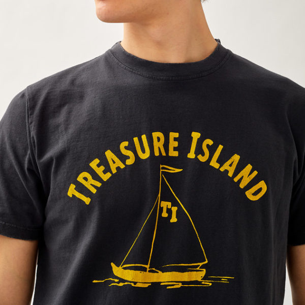 T SHIRT TREASURE ISLAND IN JERSEY DESTROYED ROY ROGERS 35105 thumb 21 Ottobre 2021